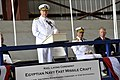 US Navy 100407-N-8273J-064 Chief of Naval Operations (CNO) Adm. Gary Roughead delivers remarks during a keel laying ceremony for an Egyptian navy fast missile craft.jpg