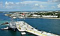 US Navy 110923-N-AC979-258 The guided-missile destroyer Pre-Commissioning Unit (PCU) Spruance (DDG 111) arrives at Naval Air Station Key West.jpg