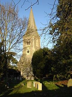 Ufton Nervet village in the United Kingdom