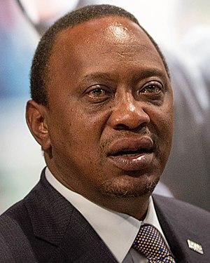 Kenyan general election, 2013 - Image: Uhuru Kenyatta 2015