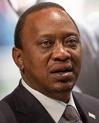 2002 Kenyan general election - Image: Uhuru Kenyatta 2015