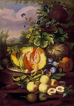 Ujházy Still Life of Fruit