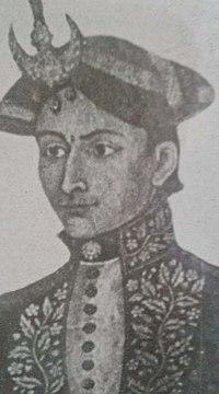 Ujir Singh Thapa in crown.jpg