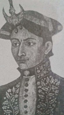 Ujir Singh Thapa in crown.jpg