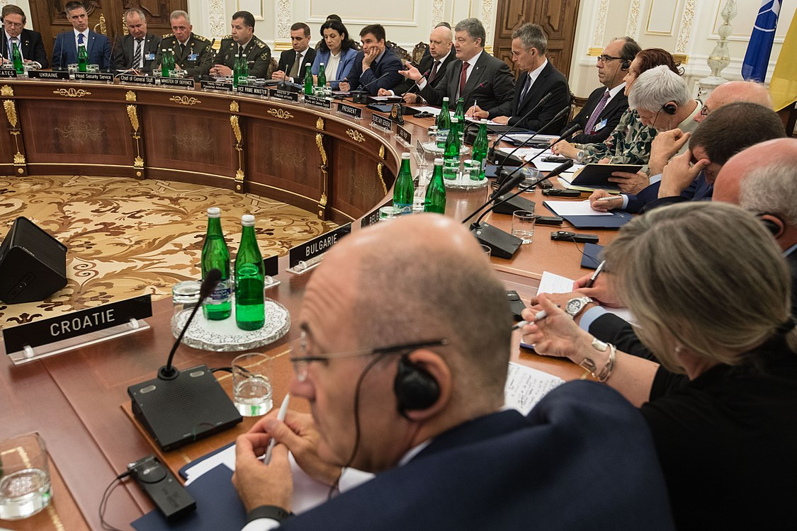 Ukraine – NATO Commission chaired by Petro Poroshenko (2017-07-10) 27.jpg