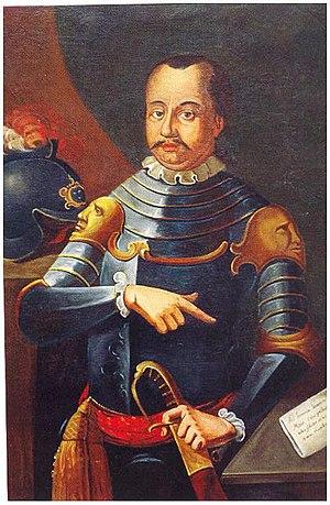 Ulrich II, Count of Celje - Portrait (from ca. 1700)