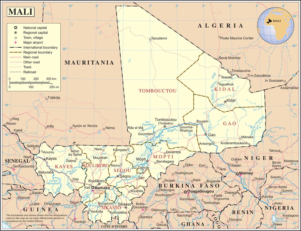 Geography of Mali - Wikipedia