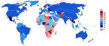 Unemployment rate world from CIA figures.PNG