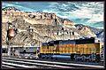 Union Pacific Locomotive at Helper Utah - panoramio.jpg