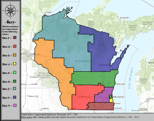 Wisconsin's congressional districts   Wikipedia