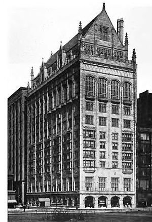 University Club of Chicago - The building shortly after completion in 1909