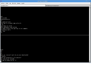talk (software) standard UNIX utility