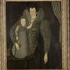 Lady Anne Newdigate and Child