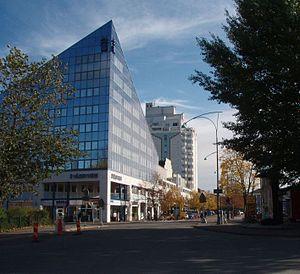 Upplands Väsby - Upplands Väsby in October 2007