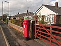 Upton, postbox No. BH16 282, Beacon Park Road - geograph.org.uk - 1582048.jpg