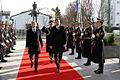 Uradni obisk predsednika Republike Slovenije in vrhovnega poveljnika obrambnih sil Boruta Pahorja na Ministrstvu za obrambo decembra 2014 11.jpg