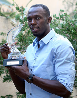 IAAF World Athlete of the Year - Image: Usain Bolt 2011 World Athletics Gala