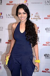 Vaishnavi Dhanraj Indian television and film actress