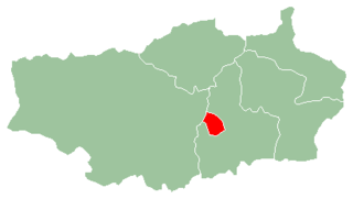 Antsirabe I District District in Vakinankaratra, Madagascar