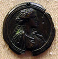 Valerio belli (stile di), cerere o dea, XVI sec..JPG