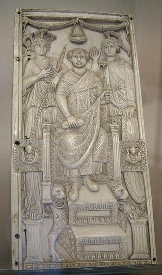 Flavius Anastasius Paulus Probus Moschianus Probus Magnus - Consular diptych of Fl. Anastasius Paulus Probus Moschianus Probus Magnus