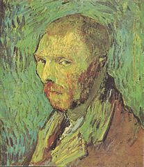 Self portrait by Vincent van Gogh (F528)