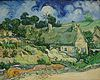 Van Gogh - Thatched Cottages at Cordeville.jpg