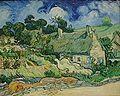 Van Gogh - Thatched Cottages at Cordeville.jpg