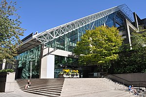 Law Courts (Vancouver) - Main Entry from Hornby and Nelson Streets