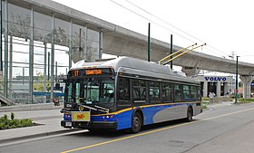 Image illustrative de l'article Trolleybus de Vancouver