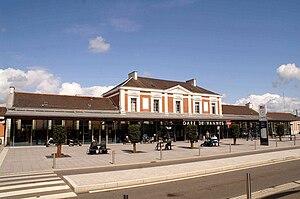 Gare de Vannes - Vannes railway station