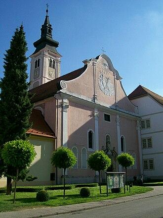 Varaždin - Varaždin's Cathedral.