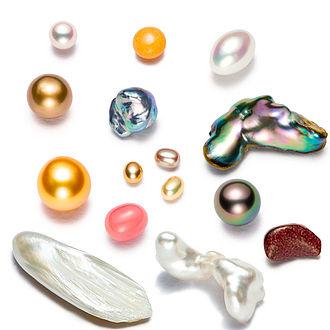 Pearl - Various pearls