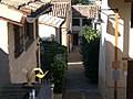 Veduta del quartiere di case di terra di Villa Ficana, Macerata, Italy.jpg