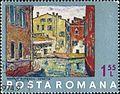 Venice by M. Bunescu 1972 Romanian stamp.jpg