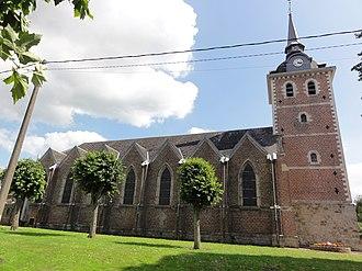 Vertain - Image: Vertain (Nord, Fr) église, coté nord