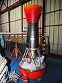 Vesta rocket engine Musée de l'Epopée de l'Industrie et de l'Aéronautique, pic2.JPG