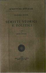 Francesco Vettori: Scritti storici e politici