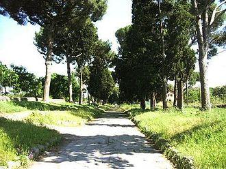 Appian Way Regional Park - Image: Via Appia Antica, Rome, 2004