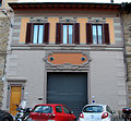 Via bartolomeo scala 1, edificio con decori deco 01.JPG