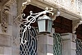 Victor Beltri construction on Mayor Street in Cartagena in Spain in Jugend Style - lamp.jpg