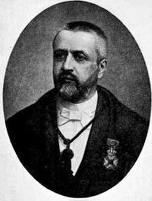 Victor D'Hondt - Image: Victor D'Hondt (1841 1901)