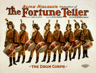 The Fortune Teller (operetta) - Image: Victor Herbert Alice Nielsen The Fortune Teller