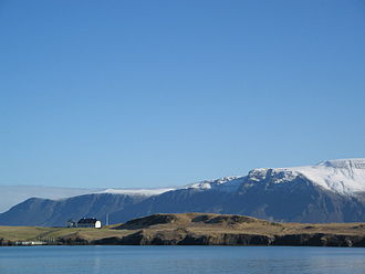 Icelandic Reformation - Modern-day Viðey, formerly the seat of a Catholic monastery