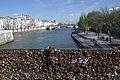 View from the Pont de l'Archevêché, Paris 13 April 2015.jpg