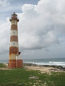 Morant Point Lighthouse.