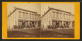 View of building with people in front of it, from Robert N. Dennis collection of stereoscopic views.png