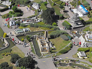 Mini-Europe - Site from the Atomium