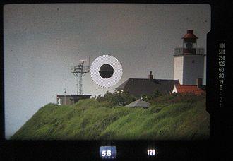 Teleconverter - Image: Viewfinder SLR 300mm 2x Teleconv.swn