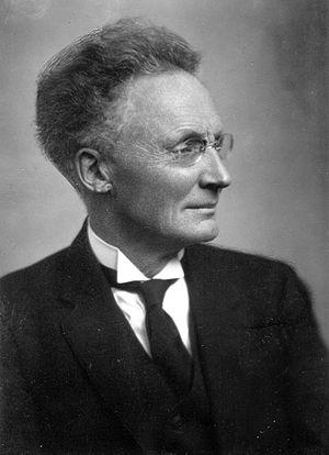 Vilhelm Bjerknes - Vilhelm Bjerknes, circa 1920